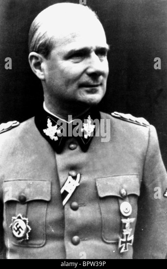 KARL WOLFF MEMBER OF THE SS 02 July 1941 - Stock-Bilder