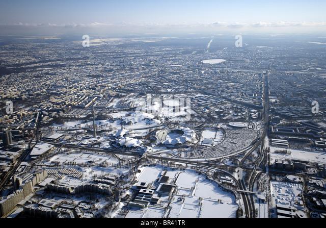 Olympiapark, Germany, Bavaria, Muenchen - Stock-Bilder