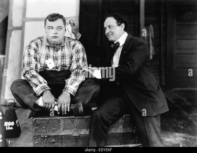 Roscoe 'Fatty' Arbuckle - American actor - Stock-Bilder