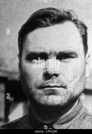 Kramer, Josef, 10.11.1906 - 13.12.1945, German ss officer, Commandant of camp Auschwitz-Birkenau May - December - Stock-Bilder