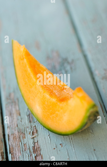 Slice of melon - Stock Image