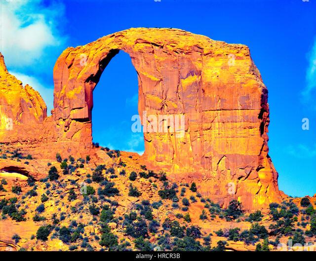 Royal, or Gregg Arch, Navajo Wildlands, Arizona Luckachukai Mountains - Stock-Bilder