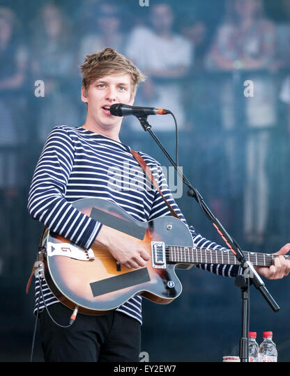 George Ezra plays Glastonbury Festival at Worthy Farm on 27/06/2015 at Worthy Farm, Glastonbury.  Persons pictured: - Stock Image