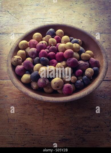Farm fresh potatoes - Stock Image
