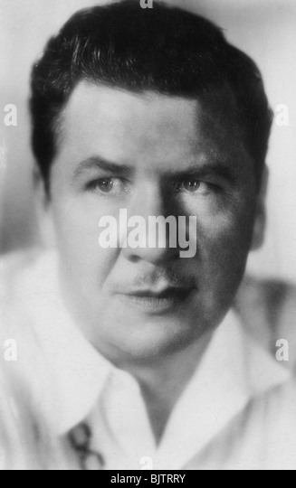 George Bancroft (1882-1956), American actor, 20th century. - Stock Image