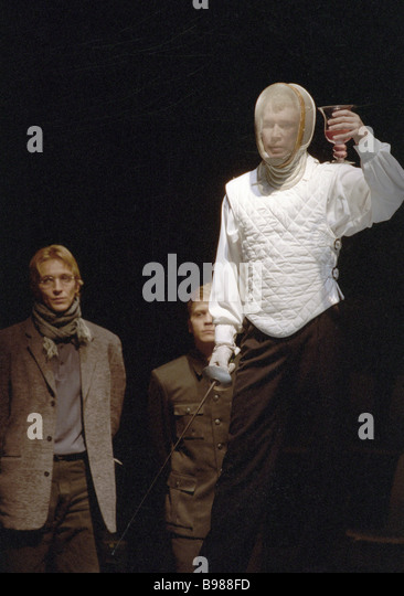 An examination of a scene in the play hamlet by william shakespeare