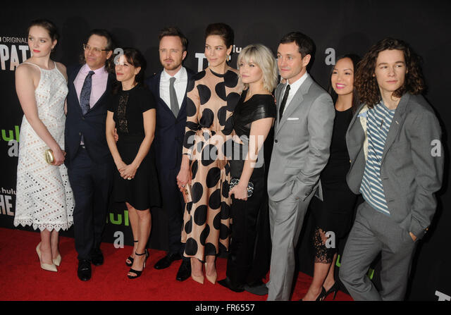 Hollywood, CA, USA. 21st Mar, 2016. 21 March 2016 - Hollywood, California - Emma Greenwell, Jason Katims, Jessica - Stock Image