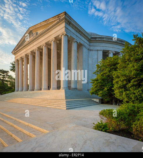 The Thomas Jefferson Memorial is a presidential memorial in Washington, D.C. - Stock Image