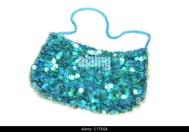 Sequin Handbag - Stock Image
