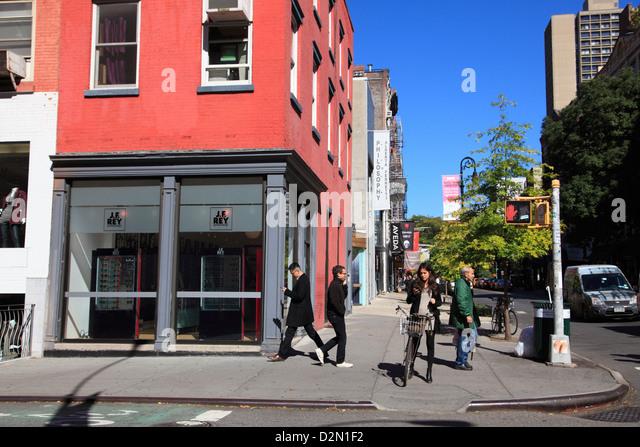 Soho, Manhattan, New York City, United States of America, North America - Stock Image