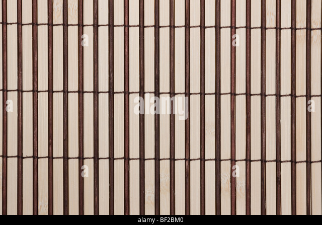 handmade straw mat useful as texture and background - Stock Image