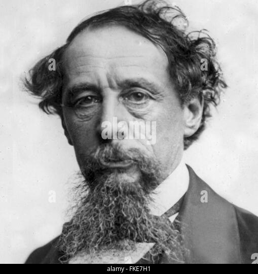Charles John Huffam Dickens was an English writer and social critic. He created some of the world's best-known - Stock Image