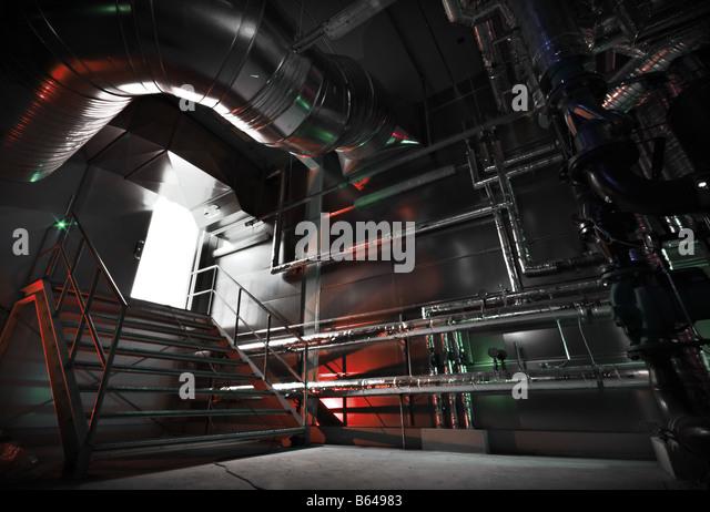 Boiler room - Stock Image