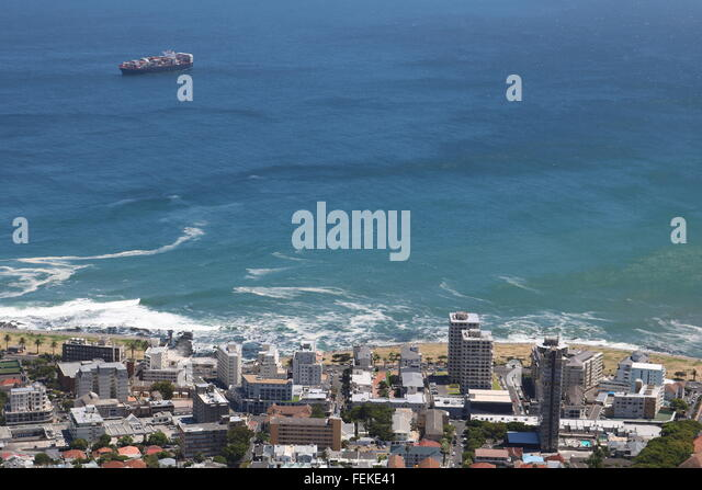 Sea Point, Cape Town, South Africa - Stock Image
