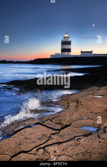 Hook Head Lighthouse, Co. Wexford. Ireland - Stock-Bilder