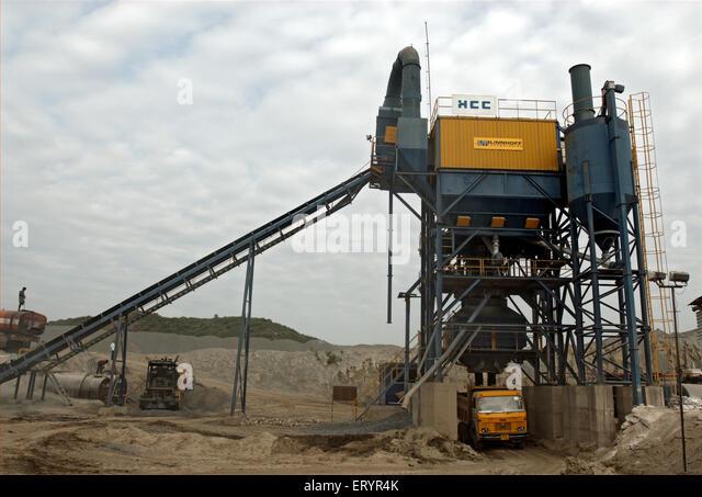 dirt mixing machine