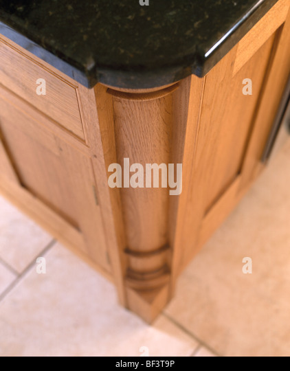 Black Granite Kitchen Worktop Stock Photos Amp Black Granite