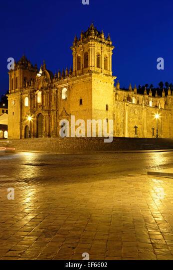 Cusco Cathedral (Nuestra Sra. de la Asuncion), Cusco, Peru - Stock Image