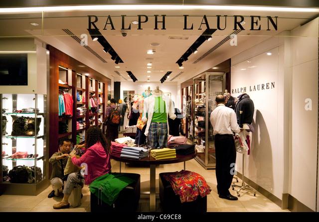 ralph lauren store stock photos ralph lauren store stock. Black Bedroom Furniture Sets. Home Design Ideas