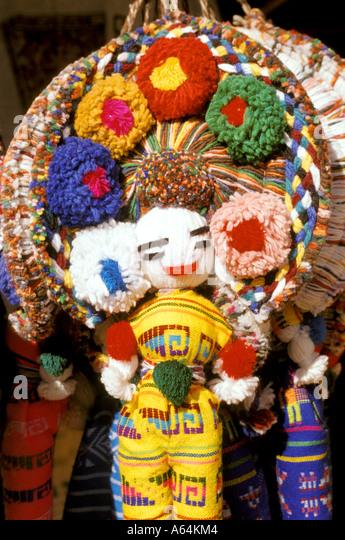 Yucatan Mexico mx doll maya - Stock Image