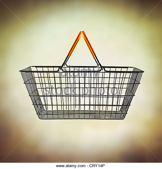 basket - Stock Image