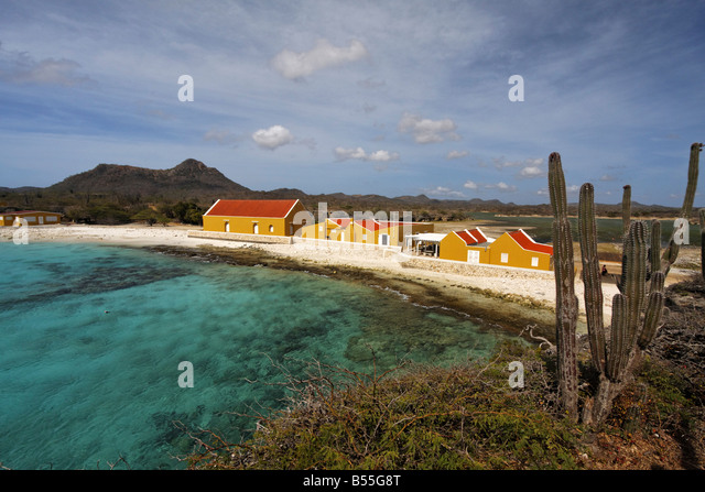 West Indies Bonaire Boca Slagbaai Washington National Park - Stock Image