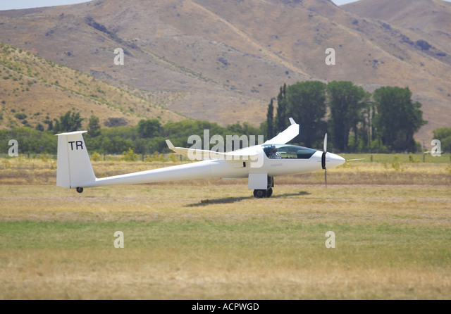 Gliding In South Island New Zealand