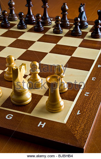 game of chess - Stock-Bilder
