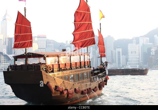 junk boat - Stock-Bilder