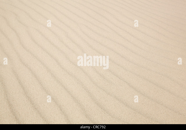 Ripples in sand dunes - Stock-Bilder