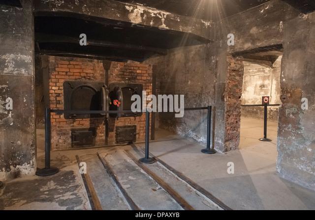Gas Chamber Auschwitz Stock Photos & Gas Chamber Auschwitz ...