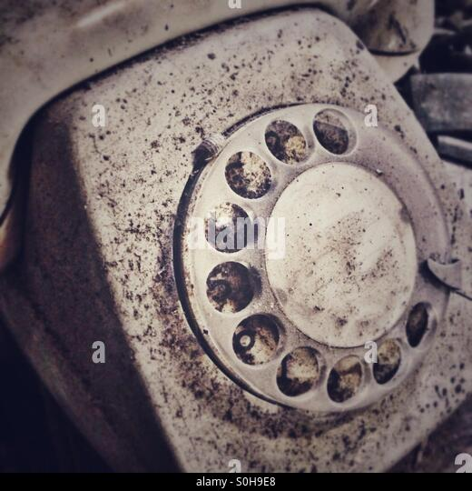 Old phone - Stock-Bilder