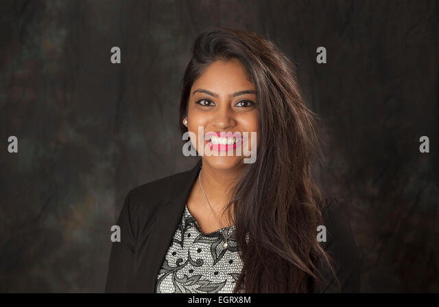 Walsall, West Midlands, UK. 1st March 2015. Roshni Patel Video Journalist at the new Big Centre TV channel. Big - Stock Image