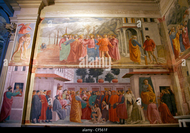 tribute money by masaccio The two undisputed masterpieces of the chapel are the explusion from paradise  (clearly showing giotto's influence), and tribute money, in which jesus and the.
