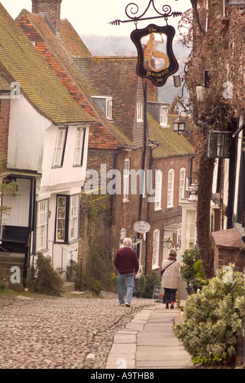 Rye Sussex England - Stock Image