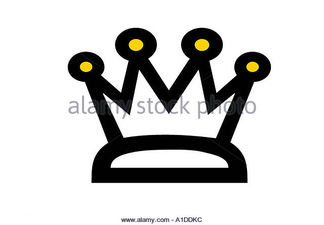 A royal crown - Stock Image