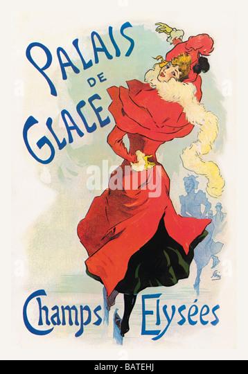 Palais de Glace: Champs Elysees - Stock Image