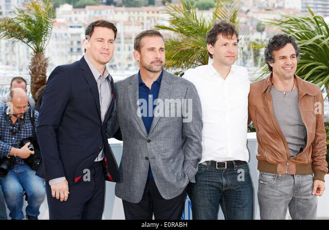 Cannes, France. 19th May, 2014. Channing Tatum, Steve Carell, Bennet Miller and Mark Ruffalo The Foxcatcher Credit: - Stock Image