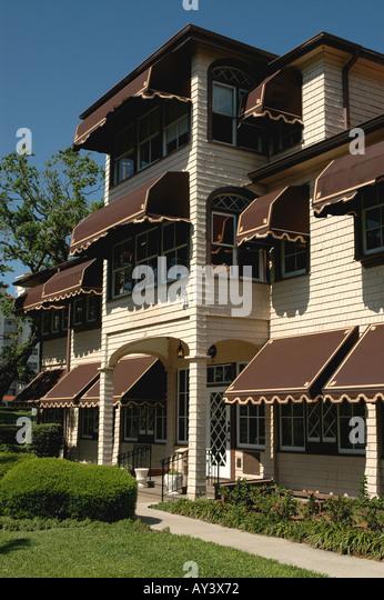 Florida Casements John D Rockefeller Home - Stock Image