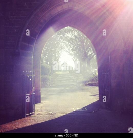 The gateway to heaven - Stock Image