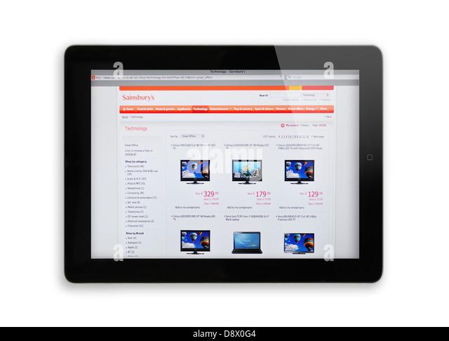 Online shopping at sainsburys