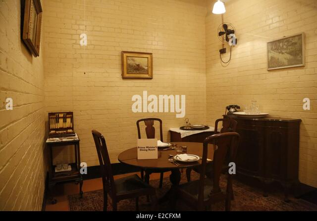 Winston churchill stock photos winston churchill stock images alamy - Churchill war cabinet rooms ...