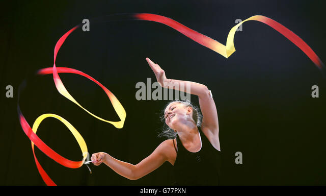 Commonwealth Games - Gymnastics Preview - Stock Image