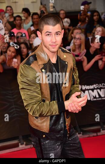 Toronto, Ontario, Canada. 19th June, 2016. NICK JONAS arrives at the 2016 iHeartRADIO MuchMusic Video Awards at - Stock Image