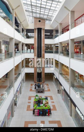 Mecca mall in Amman, Jordan - Stock Image