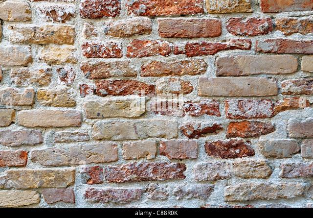 Old Brick Wall - Stock-Bilder