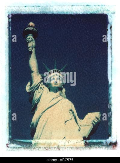 Statue of Liberty, New York, USA - Stock Image
