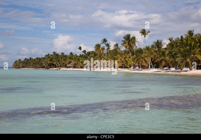 Saona Island, Dominican Republic, West Indies, Caribbean, Central America - Stock Image