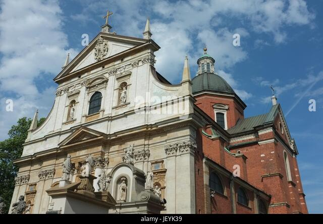 The Church of Saints Peter and Paul in Old Town, Krakow, Poland, Central/Eastern Europe, June 2017. - Stock Image