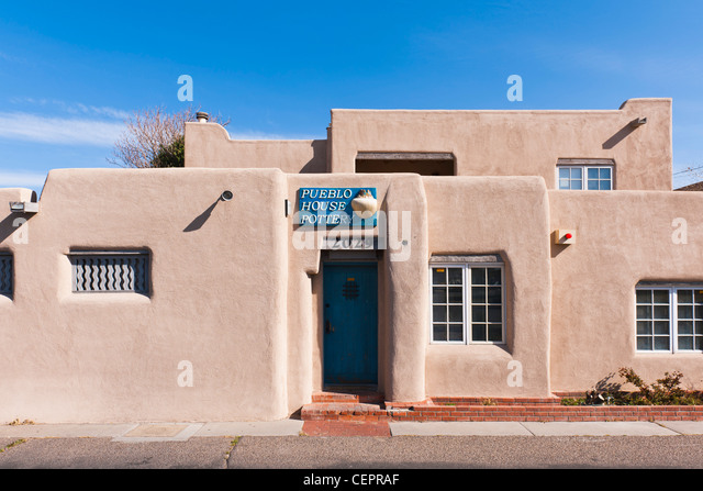 Adobe building style stock photos adobe building style for Adobe construction pueblo co